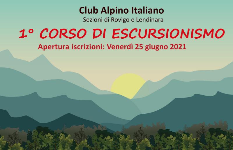 Corso Escursionismo (E1) 2021